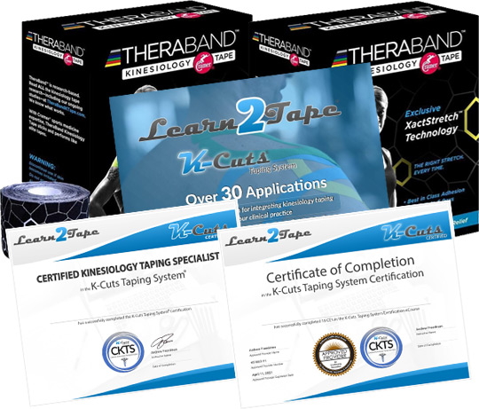 kinesiology book tape online course